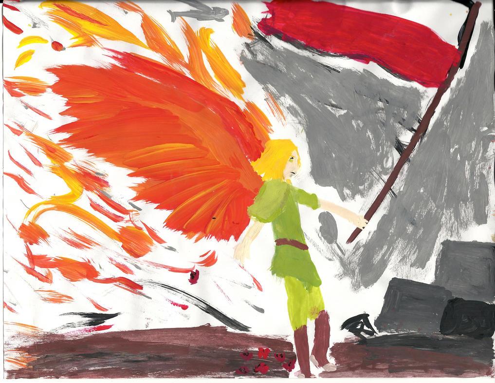 Poland paint by UsagiBard