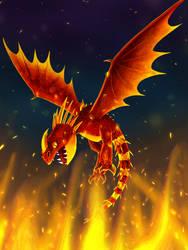 Fiery by dogloven4989