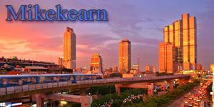 Bangkok Sunset forum banner by mikekearn