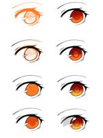 Step by Step Eye Tutorial by reiitan