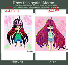 Chibi Beforeand After