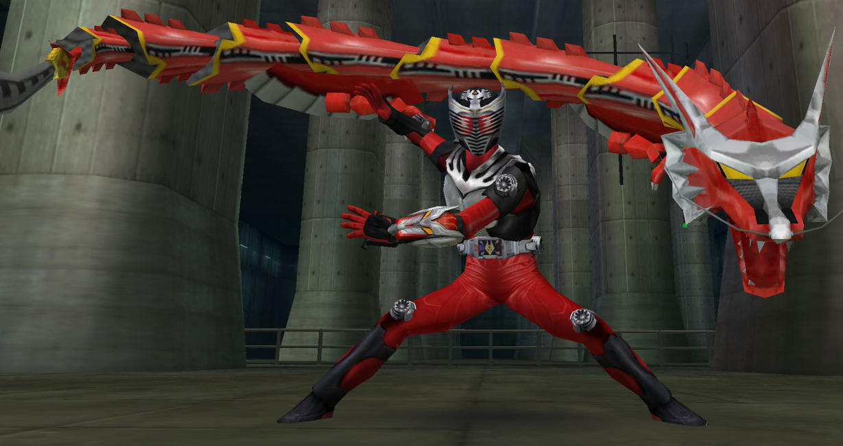 Kamen Rider Dragon Knight 2 by DecadeSnake
