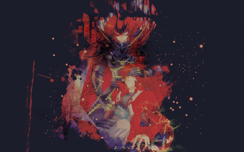 Yu-Gi-Oh!GX Wallpaper - You have fallen, King  by