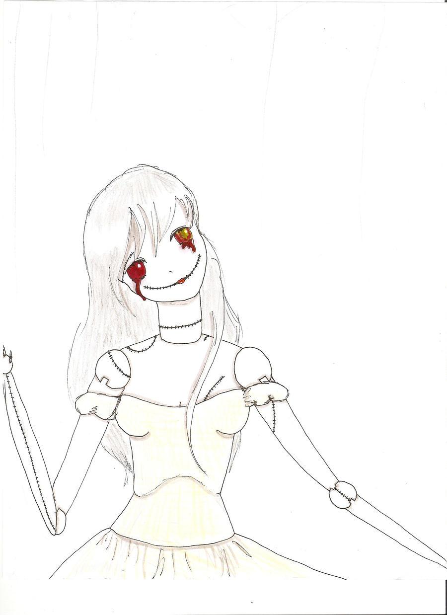 Creepy doll by sundrop13 on DeviantArt