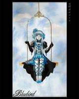 Gothic Bluebird by Shirono