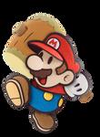 SSB5 Paper Mario - Default