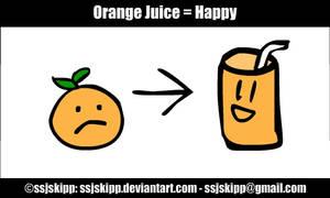 Orange Juice Happy
