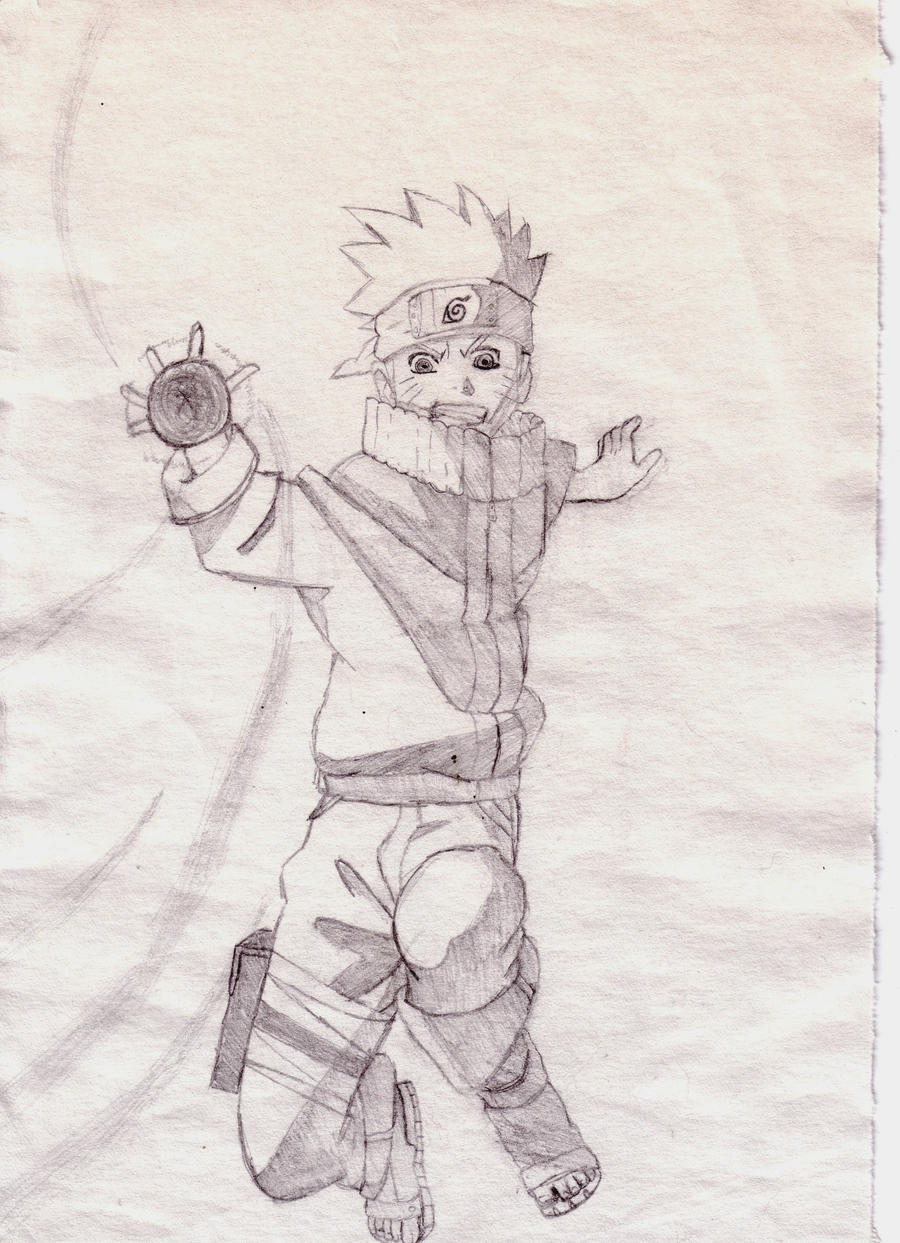 Naruto -- resengan by Drawing-Rainbow