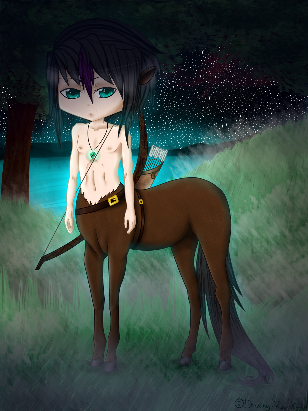.:Tyson the Centaur:. by Drawing-Rainbow