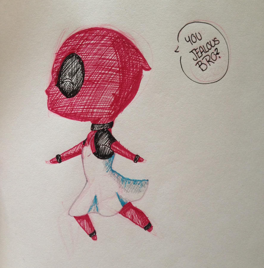 You Jealous Bro by Drawing-Rainbow
