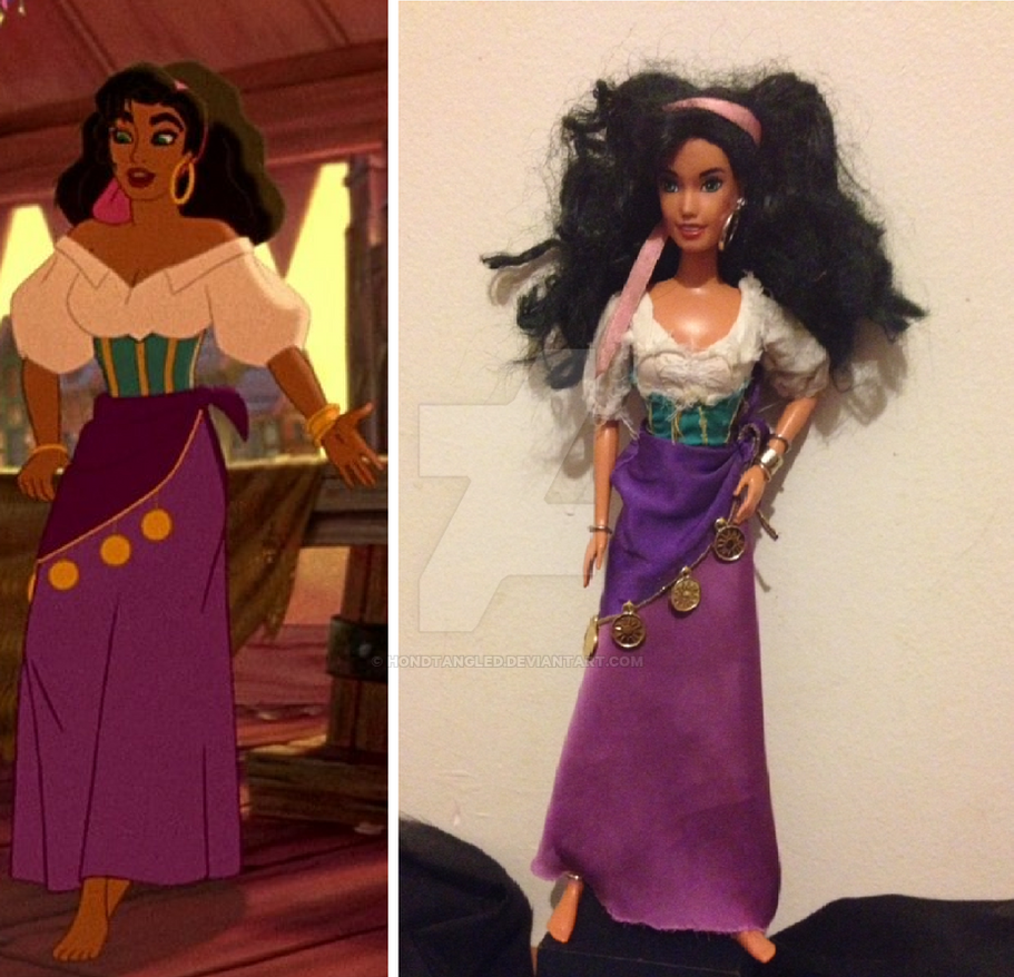 Disney Esmeralda-1996 ... Gina Lollobrigida Esmeralda