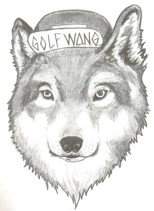 Golf Wang Wolf By SockHeadx4