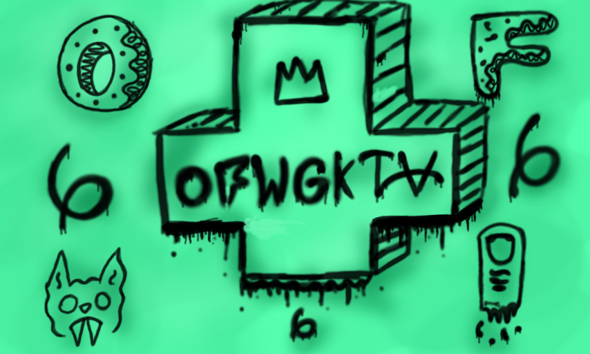 OFWGKTA Graffiti By SockHeadx4