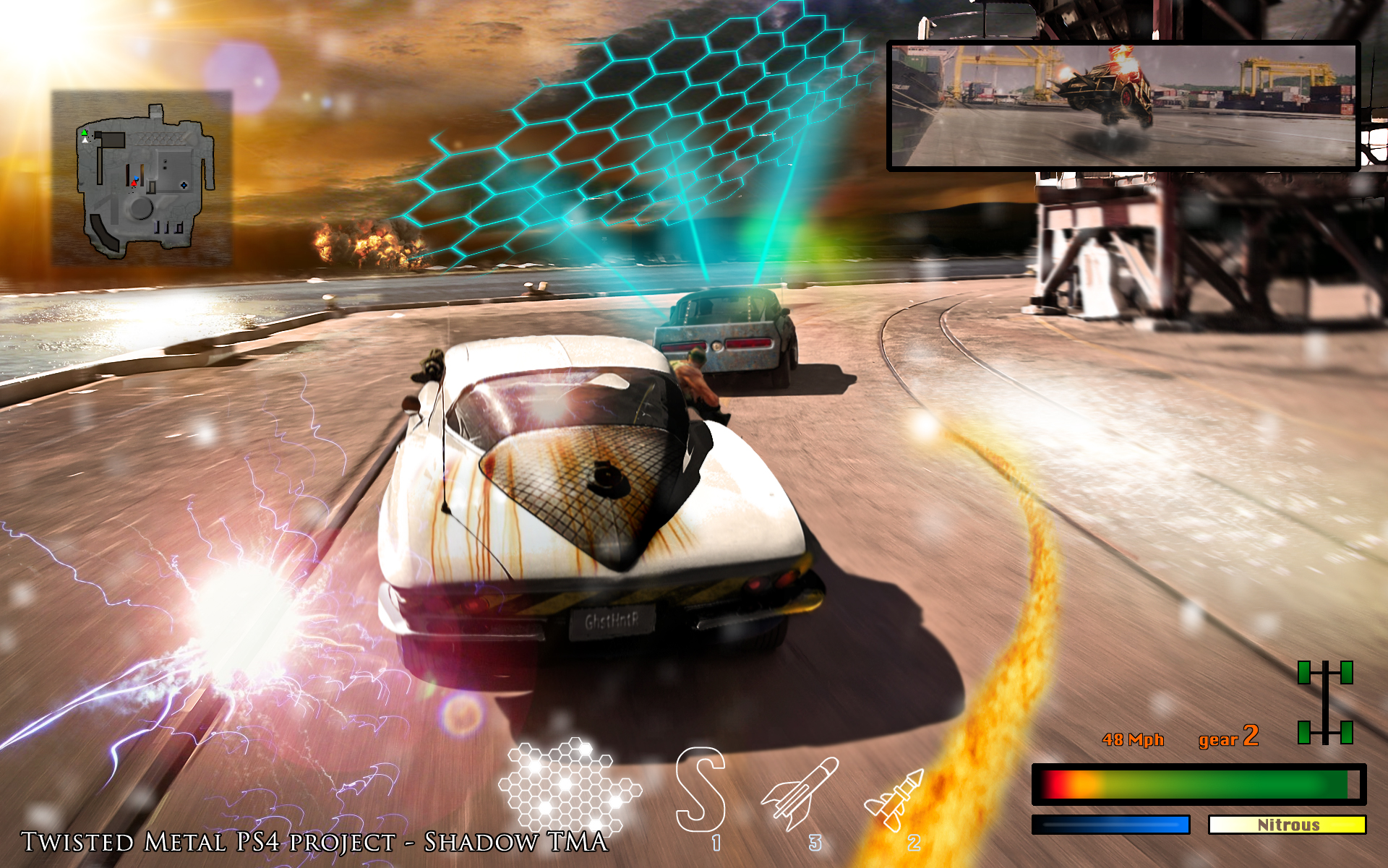 Next Generation Twisted Metal (PS4 ?)