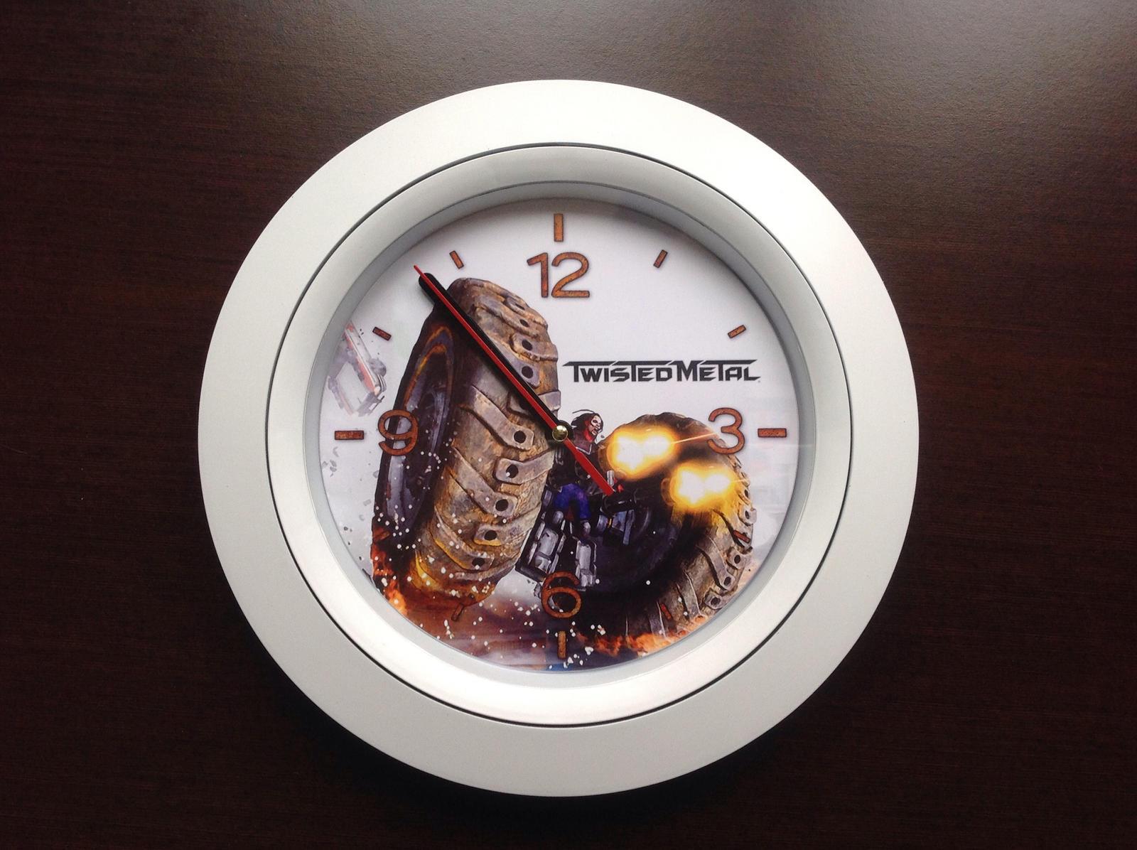 Twisted Metal Clock