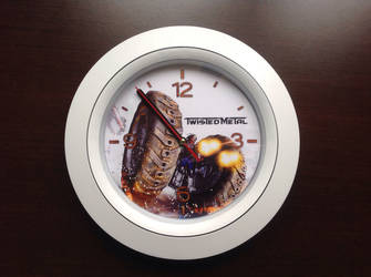 Twisted Metal Clock
