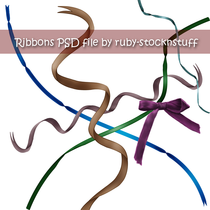 Ribbons by ruby-stocknstuff