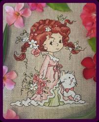 Morning Fairy Cross-stitch