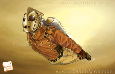 The Rocketeer By Nico by OrangeAsgard