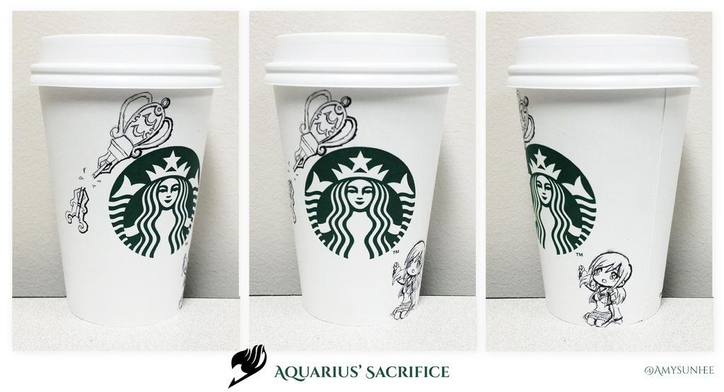 Aquarius' Sacrifice - Starbucks Art [*Spoiler*] by ...
