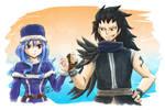 Fairy Tail BrOTP - Juvia and Gajeel