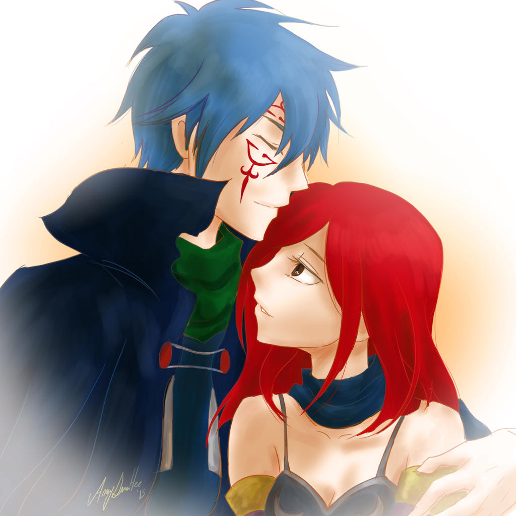 mystogan and erza relationship help