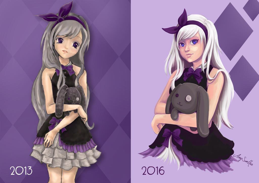 Art Progress 2013-2016 by SunHee2244
