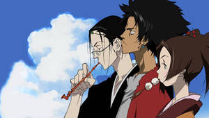 Samurai Champloo PSP Wall 02 by SulphurFeast