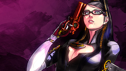Bayonetta PSP Wallpaper 3 by SulphurFeast