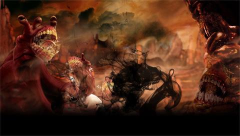 Dante's Inferno 3 Gluttony by SulphurFeast