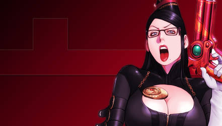 Bayonetta PSP Wallpaper 4