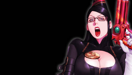 Bayonetta PSP Wallpaper 6