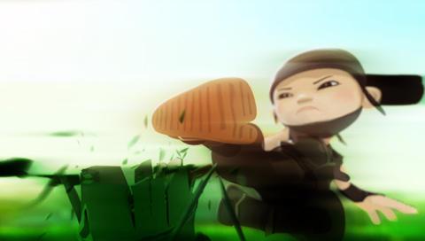 PSP Wallpaper Mini Ninjas 2