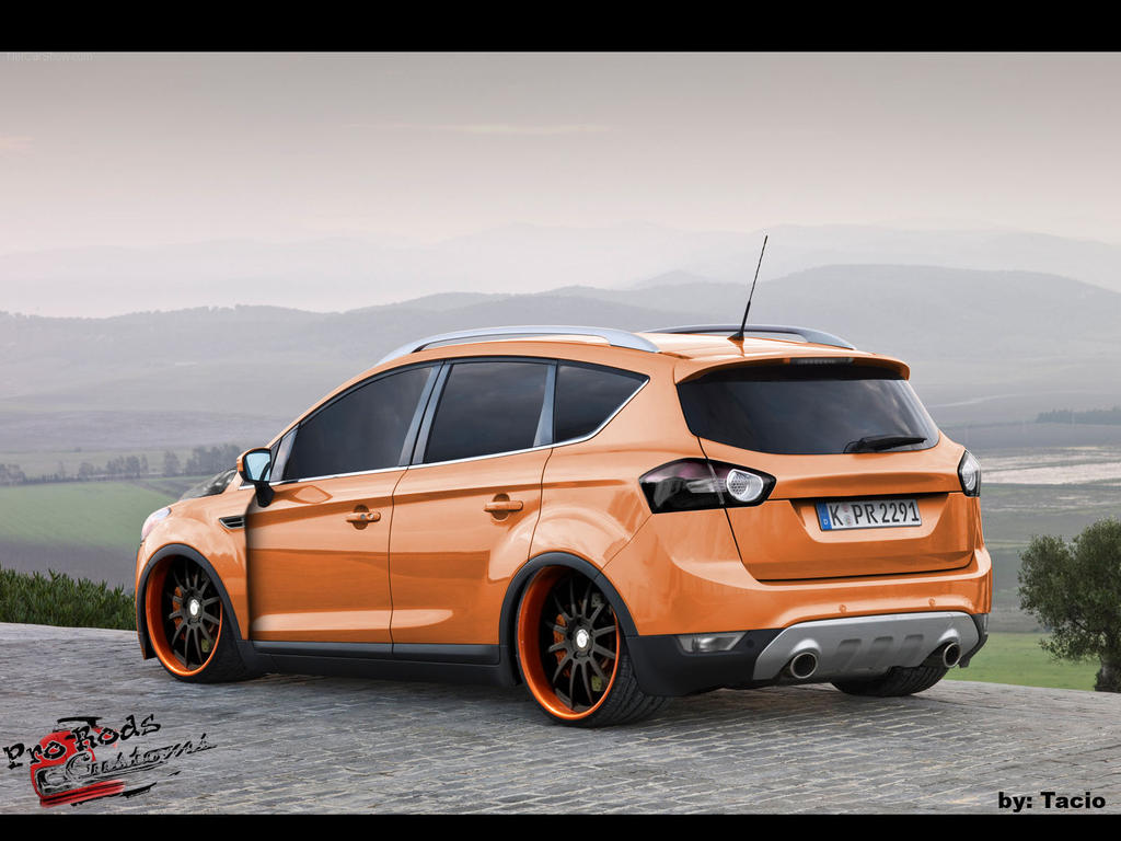 ford kuga by taciovtuner on deviantart. Black Bedroom Furniture Sets. Home Design Ideas