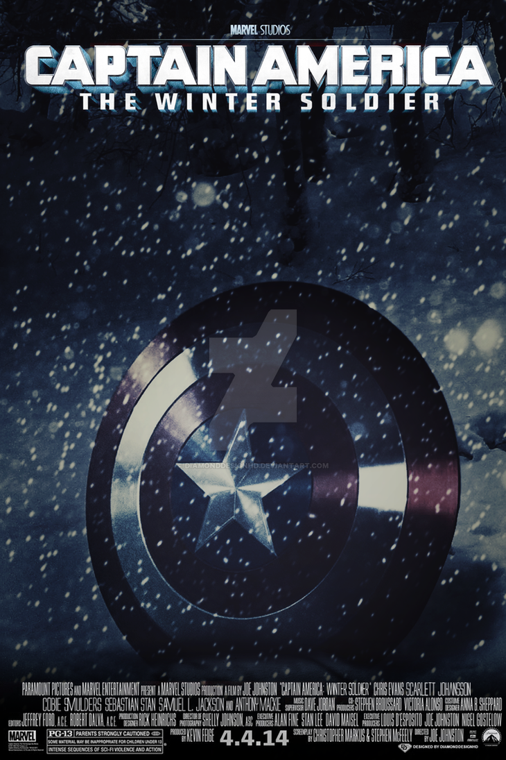 Captain America The Winter Soldier Poster By