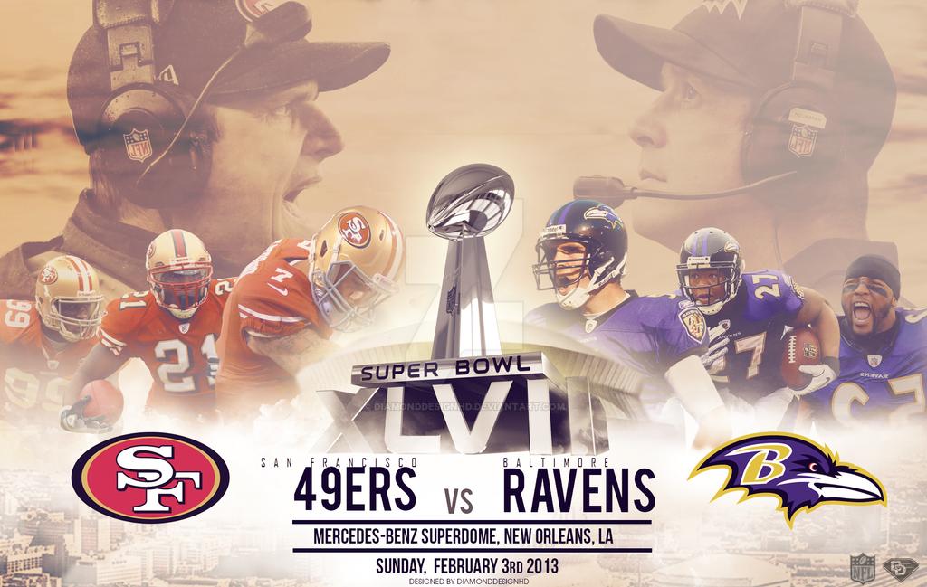 Super Bowl XLVII Wallpaper by DiamondDesignHD