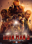 Iron Man 3 (Fan Made) Movie Poster v8