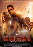 Iron Man 3 (Fan Made) Movie Poster v9