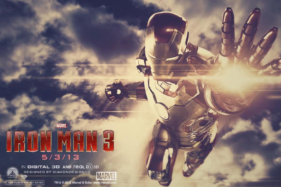 Iron Man 3 Wallpaper by DiamondDesignHD