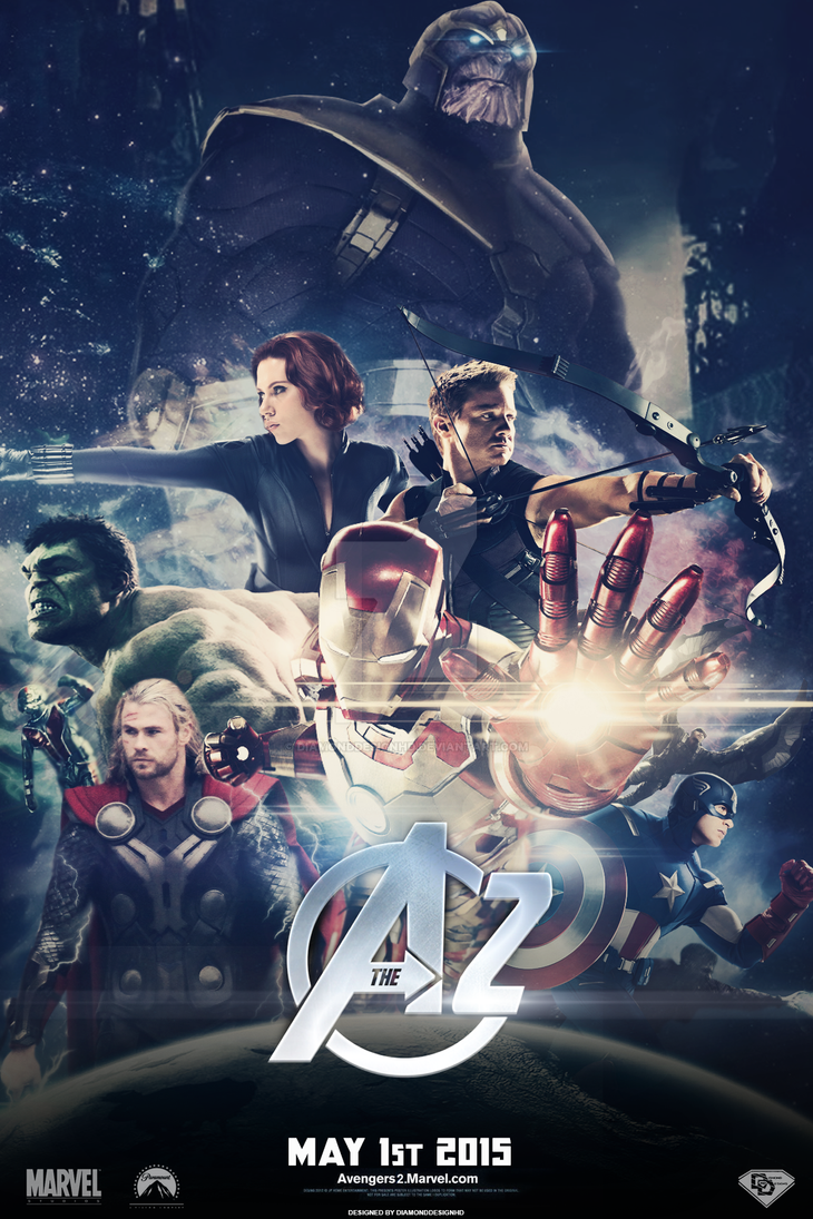 Marvel's The Avengers 2 (FANMADE) Teaser Poster by DiamondDesignHD