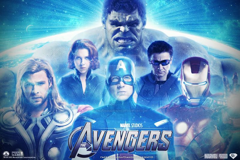 The Avengers Wallpaper by DiamondDesignHD