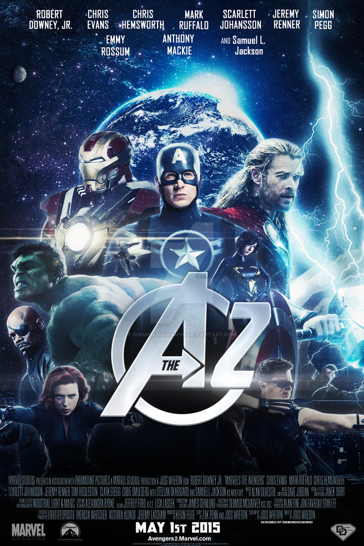 Marvels The Avengers 2 FAN MADE Poster By DiamondDesignHD