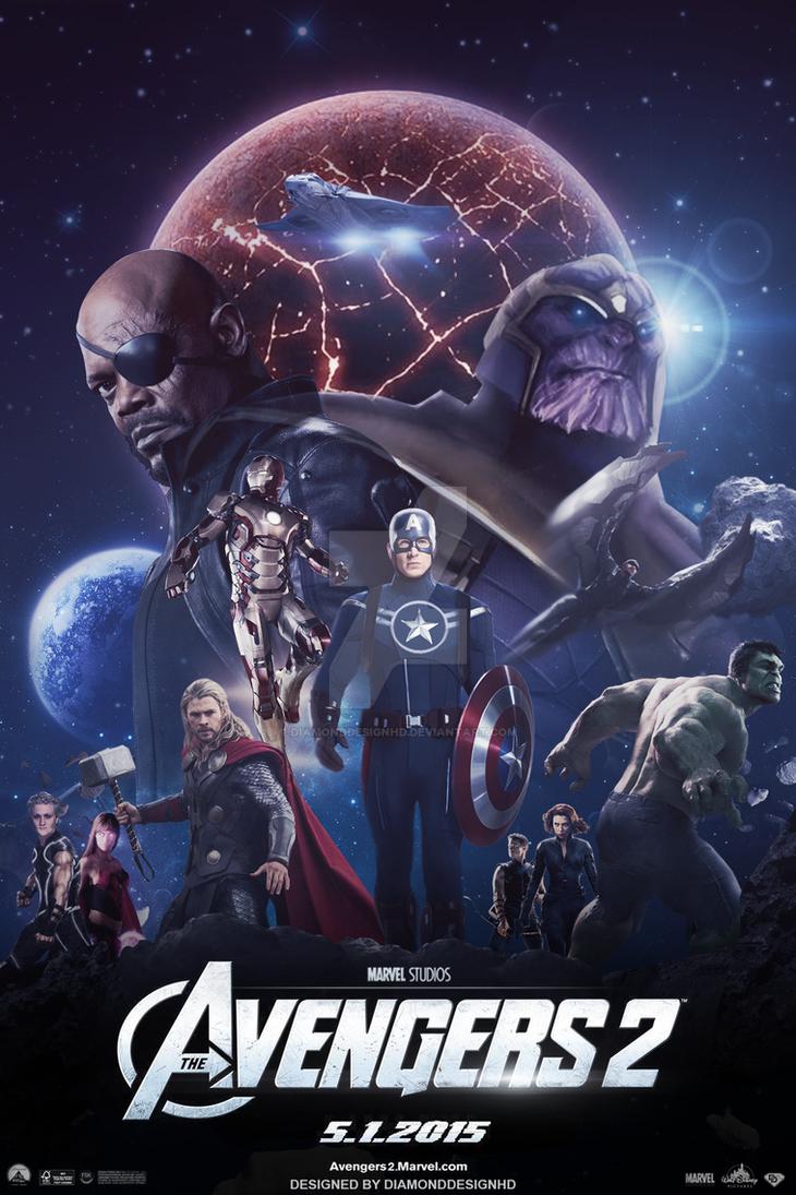 The Avengers 2 (FAN-MADE) Poster by DiamondDesignHD