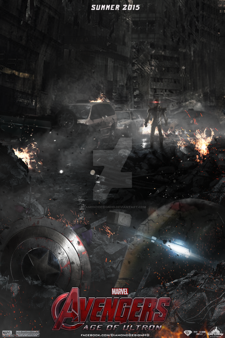 Avengers Age Of Ultron FAN MADE Teaser Poster By DiamondDesignHD