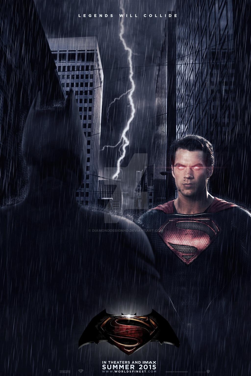 Man of Steel 2/World's Finest (Fan-Made) Poster