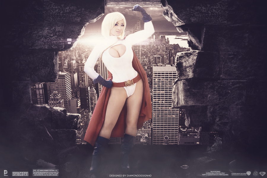 Power Girl Manipulation by DiamondDesignHD