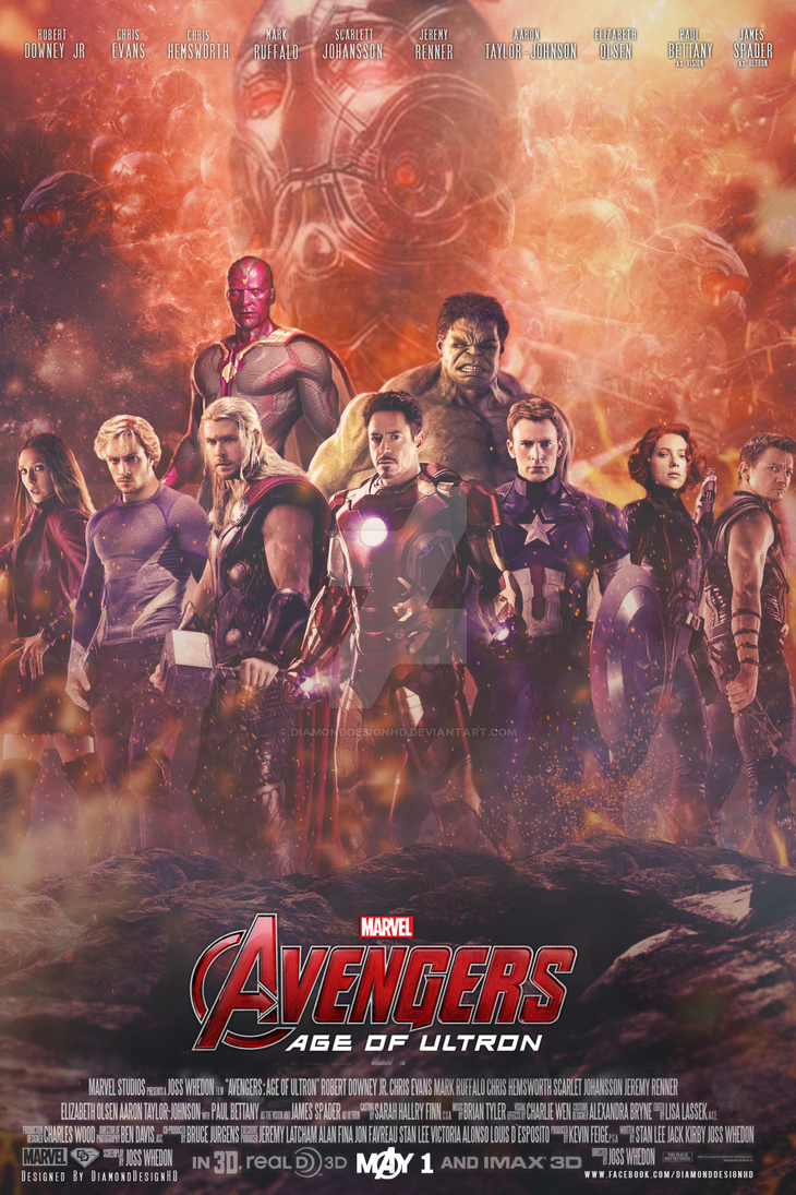 Avengers: Age of Ultron (FAN MADE) Poster by ...