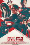 Captain America: Civil War (FAN MADE) Poster