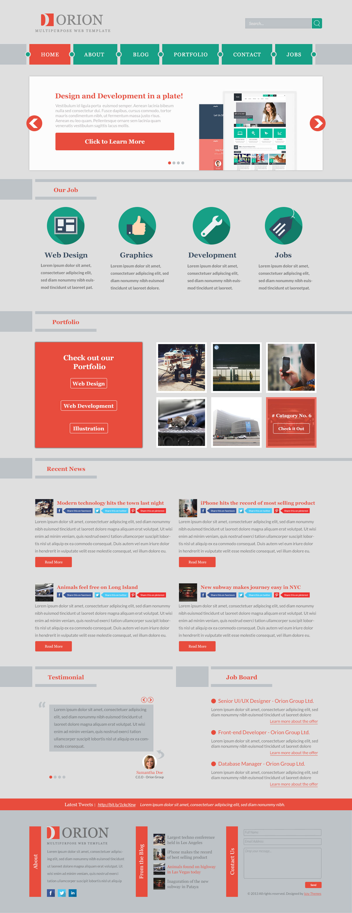 Site spinner templates free download
