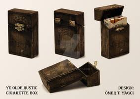 Ye Olde Rustic Cigarette Box